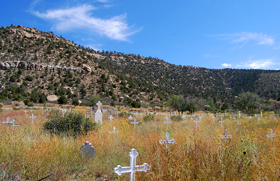 Dawson New Mexico Cemetery, September 2008, Kathy Wesier