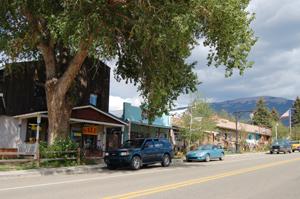 Eagle Nest, New Mexico Main Street