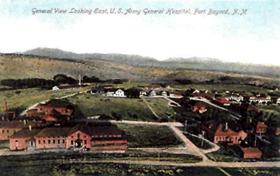 Fort Bayard postcard