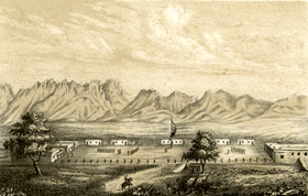 Fort Fillmore, New Mexico, 1854
