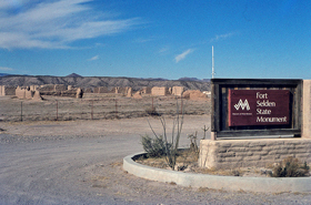 Fort Seldon, New Mexico today