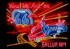 Neon Gallup New Mexico