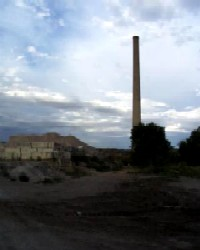 Coal Mine Stack in Gamerco, New Mexico