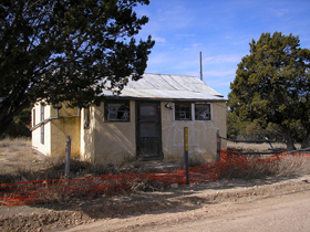 Adobe home, Jicarilla, New Mexico