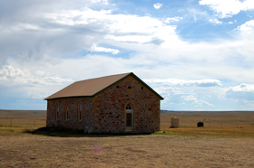 Johnson Mesa Church, New Mexico