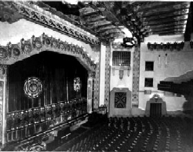 KiMo Theatre Stage, 1927