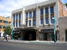 The Kimo Theatre in Albuquerque, New Mexico