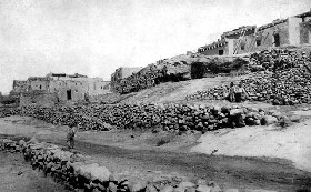 Laguna Pueblo around the turn of the century