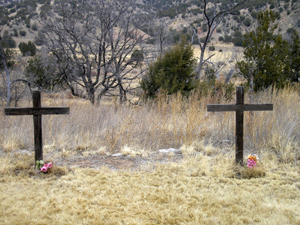 McQueen and Tunstall Graves, Lincoln, New Mexico