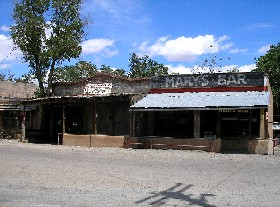 Los Cerrillos, New Mexico Ghost Town buildings