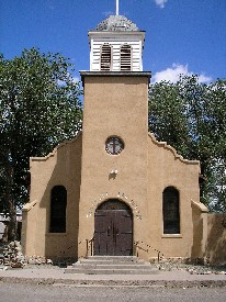 Saint Joseph Church in Los Cerrillos, New Mexico