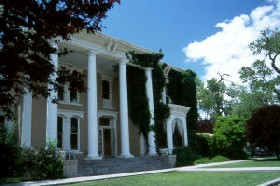 The Luna-Orega Mansion in Los Lunas, New Mexico