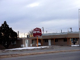 The Sands Motel in Moriarty, New Mexico