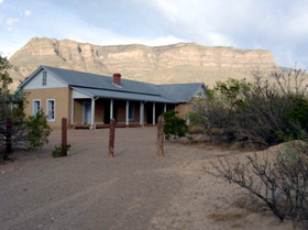 Oliver Lee's Dog Canyon Ranch House, 2004,