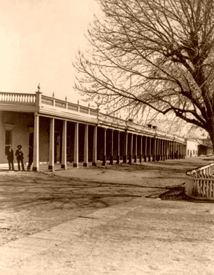 Santa Fe, New Mexico Plaza 1885