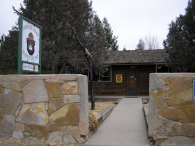 Smokey Bear Museum in Capitan, New Mexico
