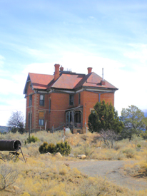 Hoyle Mansion, White Oaks, New Mexico