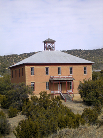 School Building, White Oaks, New Mexico