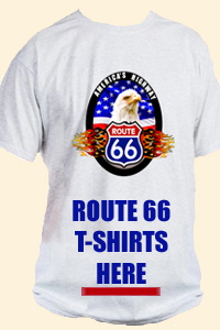 Route 66 T-Shirts designed exclusively for Legends of America