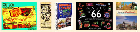 Route 66 Books from Legends' General Store