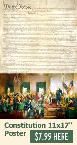 U.S. Constitution 11x17 Poster