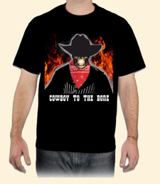 Cowboy to the bone T-shirt
