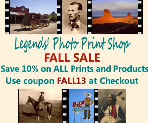 Legends' Photo Print Shop Fall Sale - 10% off Everything