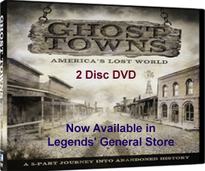 Ghost Towns: America's Lost World DVD