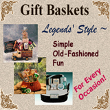 Gift Baskets from Legends' General Store