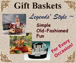 Gift Baskets for all occasions from Legends' General Store
