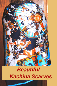 Beautiful Kachina Scarves