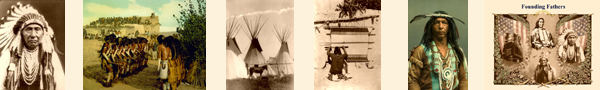Restored Vintage Native American Photos