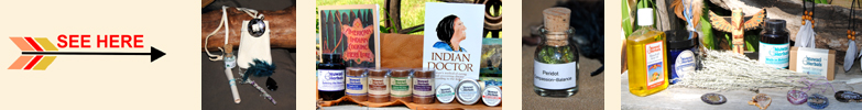 Native American Inspired Healing Products