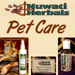 Nuwati Herbals Pet Care Products