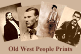 Old West People Prints