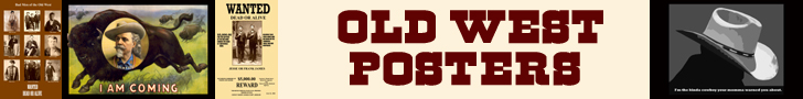 Old West Prints &amp; Wanted Posters