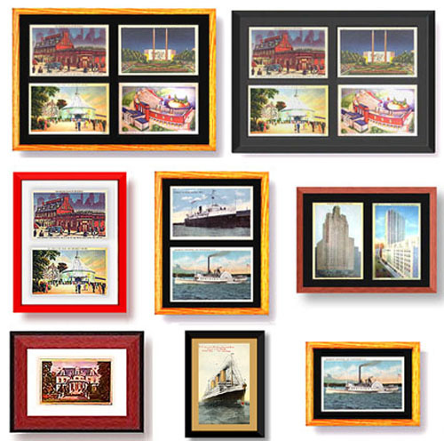 have you thought about using postcards as  ts and crafts