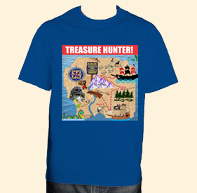 Treasure Hunter T-shirt
