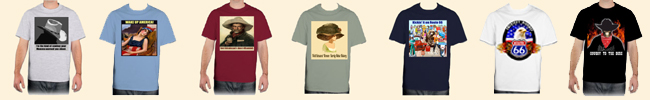 T-Shirts From Legends' General Store