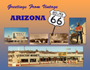 Vintage Arizona Route 66 postcard