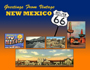 Greetings From Vintage New Mexico Postcard
