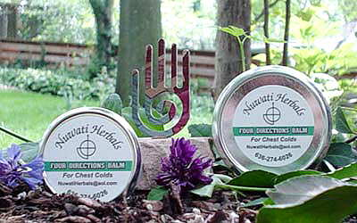 Four Directions Balm For Sinuses, Colds & Headaches