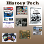 Historic documents,  books, and images on CD and DVD.