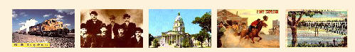 Kansas postcards for sale.