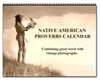 Native American proverbs calendar