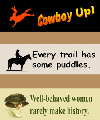 Old West Bumper Stickers