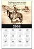 Old West calendar