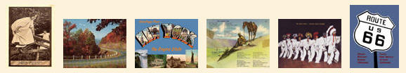 Thousands of new and vintage postcards for sale.