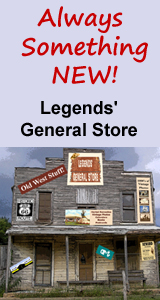 There's always something new at Legends' General Store!