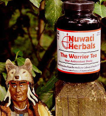 The Warrior Tea - Antioxidant tea for general good health, help the heart and heal wounds, promote digestion, and improve mental processes.